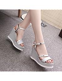 Zapatos negros Tacón de aguja formales Qiyun.z para mujer CvrFhEXl