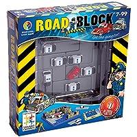 Smart Games - Road Block: Policías y Ladrones, juego de ingenio con retos progresivos (SG250)