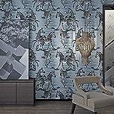 ZHAORLL 3D stereoskopischen nordischen Stil kreative Zebra Tapete Persönlichkeit europäische Kunst Wohnzimmer Schlafzimmer TV Wand Nacht Tapete 0,53m * 10m,110801