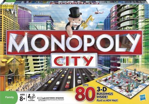 Hasbro Monopoly City Juego de Sociedad.