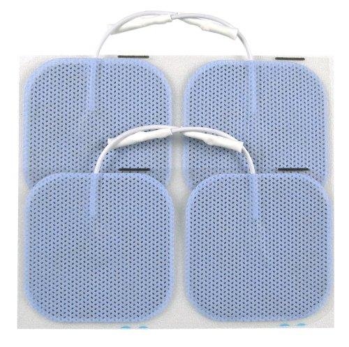 TENS Electrode Pads - 5cm Square Axelgaard Blue Electrodes