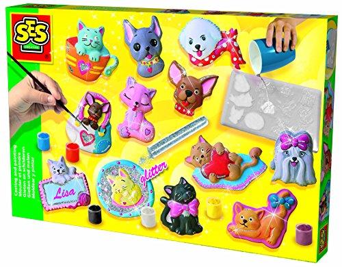 ses-01154-kit-de-loisirs-creatifs-moulage-en-platre-chiens-et-chats