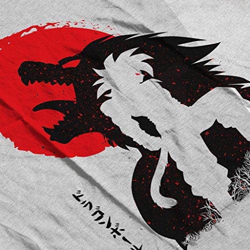 Dragon Ball Z ozaru Goku SSJ4 Women's Vest Heather Grey