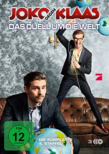 Joko gegen Klaas - Das Duell um die Welt/Staffel 4 [3 DVDs] (Dvd-duell)