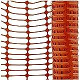 Hr Gruppe, diseño Valla Naranja 12,5kg 50m rollo Extremadamente desgarres, plástico HR Gruppe–Extra difícil–Rejilla Valla Valla, protección, valla de advertencia