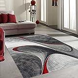 Unamourdetapis - Tapis MADILA Tapis de salon Moderne design rouge 60 x 110 cm cm