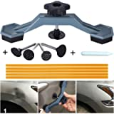 Manelord Auto Body Paintless Dent Repair Tool, Car Dent Puller with Bridge Dent Puller, Glue Puller Tabs for Car Dent…