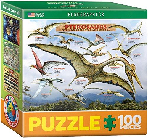 euro-graphics-puzzle-mini-100-pezzi-pterosauri-rettili-volanti-eg81040680
