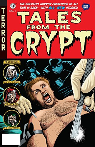 Zombies on Wall Street! A vampire elected president! What can possibly be more frightening than real life? These all-new tales are done in the grand tradition of the original EC classic horror comics. The Crypt-Keeper is back, along with the Old Witc...