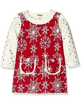 Hatley Mädchen Kleid Pretty Snowflakes Mod Dress