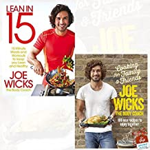 Lean in 15 - The Shift Plan and Cooking for Family and Friends [Hardcover] 2 Books Collection Set By Joe Wicks With Gift Journal - 15 Minute Meals and Workouts to Keep You Lean and Healthy, 100 Lean Recipes to Enjoy Together