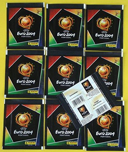 Panini EURO 2004 - 10 Tüten = 50 Sticker