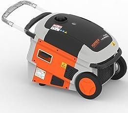 FUXTEC Inverter FX-IG13 Wechselrichter Benzin Stromerzeuger, 4,3 KW Leistung, 6h Laufleistung, 10 Liter Tankinhalt,4-Takt Motor - 2x 230V Anschluss geeignet für empfindliche Geräte wie Ladegeräte,Laptops, Smartphones und Tablets