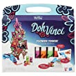Play-Doh Toy - DohVinci Flower Tower Picyure Frame Kit Playset - Includes 4 Colours