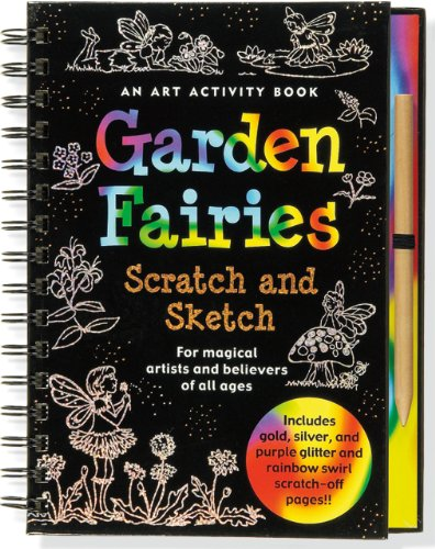 Garden Fairies [With Scratch Off Pencil] (Scratch & Sketch)