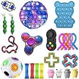 Autism Sensory Fidget speelgoedset, anti-stress speelgoedset, stressballen voor volwassenen en kinderen, 23 stuks voor stress