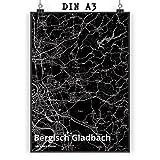 Mr. & Mrs. Panda Poster DIN A3 Stadt Bergisch Gladbach