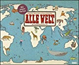 Alle Welt 2020 – Landkarten-Kalender von DUMONT– Kinder-Kalender – Querformat 58,4 x 48,5 cm