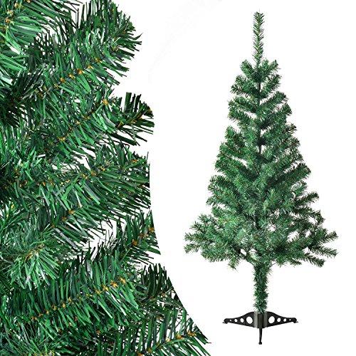 Juskys Künstliche Weihnachtsbäume Tannenbäume in 7 Varianten in grün inkl. Ständer