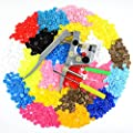 Idealeben 350 sets T5 Snap Plastic Buttons Poppers 25 color Plier Studs Fasteners for Baby Cloth Diaper Bib (T5 buttons + Pliers set) from Idealeben
