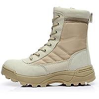 MERRYHE Bottes Militaires pour Hommes, Bottes de Combat dans Le désert, Chaussures d'escalade de Haut Sport de Plein air…