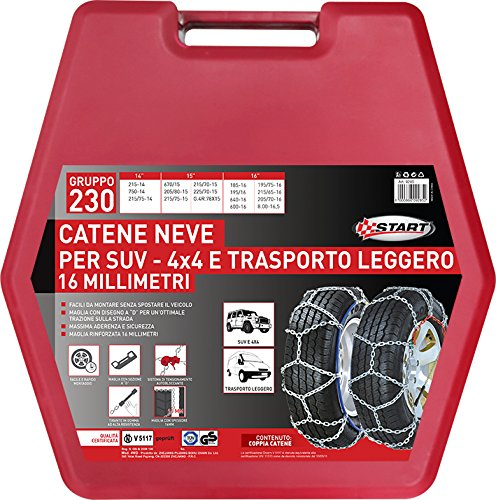 Start Catene Neve 16 mm. SUV-TL gr.230 - Catene Neve Auto