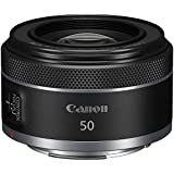 عدسة 50 ملم RF F1.8 من كانون لكاميرات كانون غير العاكسة ذات الاطار الكامل RF [EOS R, EOS RP, EOS R5, EOS R6](4515C002)
