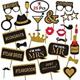 #4: Generic Party Propz Bachelorette Theme Photobooth(Pack Of 36)