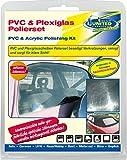 ATG CF004 Polierset mit Polierpaste für Kunststoffscheiben, PVC-Scheiben, Plexiglasscheiben, Kunststoff, Acryl, Metall und Auto Lack 2x 50ml
