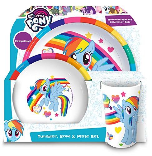 my-little-pony-tumbler-bowl-plate-set-multi-set-of-3
