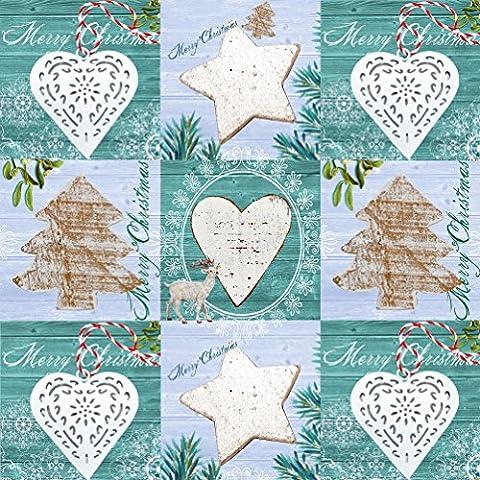 Susy Card 11384682 - Servilletas de Navidad (3 capas, 33 x 33 cm, 20 unidades)