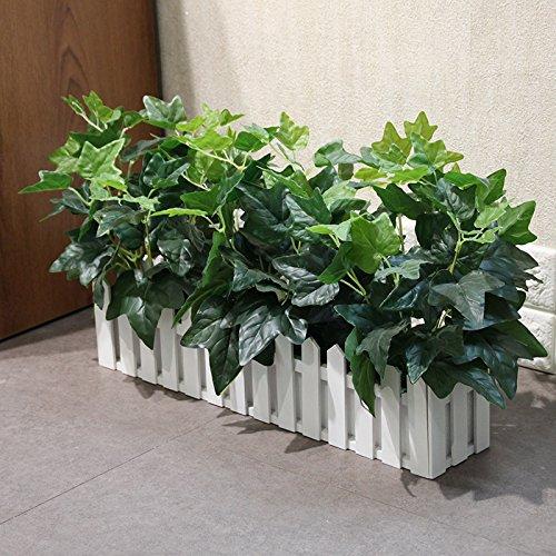 VUMOOV Flores artificiales plantas en macetas simulación Decoracion 50Cm The valla de...