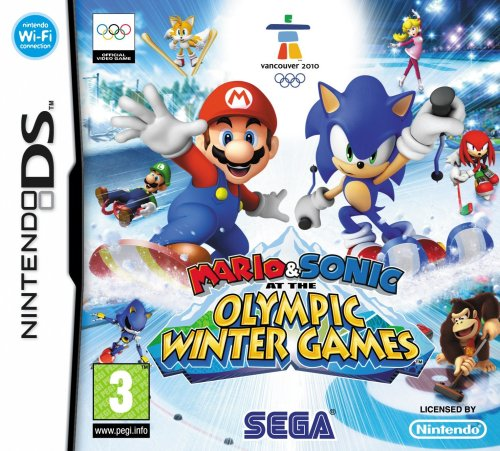 Mario & Sonic at the Olympic Winter Games [Pegi] - Ds Und Mario Sonic