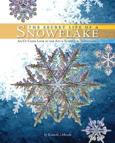 The Secret Life of a Snowflake: An Up-Close Look at the Art and Science of Snowflakes by Libbrecht, Kenneth (2010) Hardcover