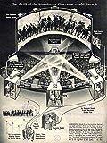 Wee Blue Coo LTD ADVERTISING 1952 CINERAMA PROJECTION TECHNOLOGY FILM CINEMA NEW FINE ART PRINT POSTER PICTURE 30x40 CMS Werbung Kunstdruck Bild