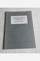 Virginia Woolf, Photography and Modernism (Annual Virginia Woolf Birthday Lectures) Paperback