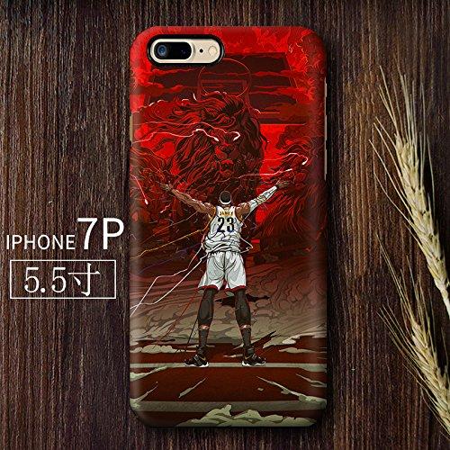 RONNEY'S AIR JORDAN BASKETBALL HEROS SOFT TPU Case for Apple Iphone 7+ & Iphone 8+ JD9 JD2