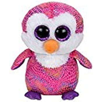 "TY Beanie Boo 6"" ~ Patty the Penguin ~ Justice Exclusive"