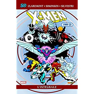 X-men l'integrale T24 1989 (I)