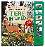 Hörst du es auch? Tiere im Wald: Soundbuch mit 6 Tierstimmen