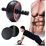 SARAN Body Well Ab Roller for Abs Workout for Men & Women, Ab Wheel & Core Sliders, Roller for Home Gym, Ab Machine for Abs W