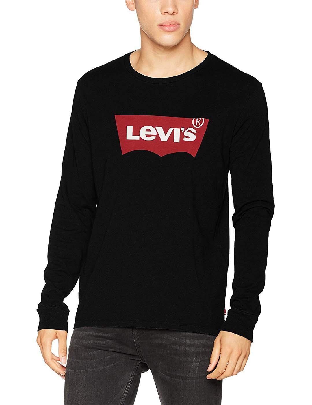 Levi's LS Graphic Tee - B Maglietta a Maniche Lunghe Uomo 1 spesavip