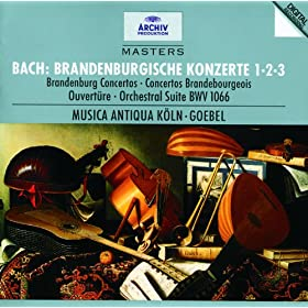 J.S. Bach: Brandenburg Concerto No.1 In F, BWV 1046 - 2. Adagio
