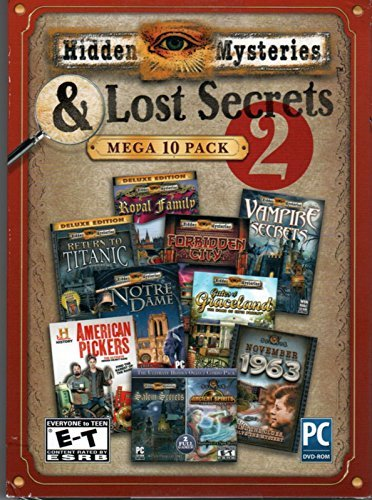 Encore 37710 Hidden Mysteries & Lost Secrets Mega-Pack Volumen 2 Amr -