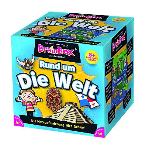 BRAIN BOX 94901 - Lernspiel - Rund Um die Welt, Spiel Dich Schlau - ab 1 Spieler, Dauer Circa 10...