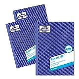 Avery Zweckform 1307-3 Rapport (A5, mit 2 Blatt Blaupapier, 100 Blatt) 3er Pack, weiß