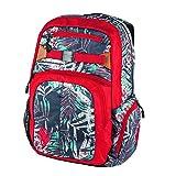 Nitro Hero Pack | großer trendiger Rucksack Tasche Backpack | Fassungsvermögen 37 L | Farbe: Broken Palms | mit gepolstertem Laptopfach und weiteren tollen Features