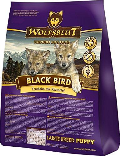 Wolfsblut Black Bird Puppy Large Breed, 15 - Puppy Wild Wolfsblut Pacific