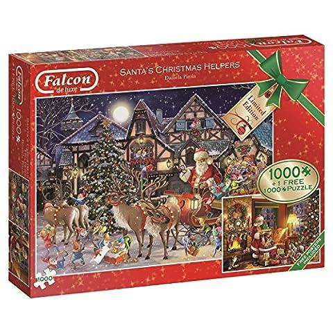 Falcon de luxe 11182 Santa's Christmas Helpers - 2 x