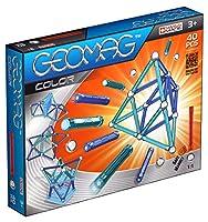 Geomag 252 - Color 40 pcsLa nuova linea Geomag Color la ricca serie di barrette magnetiche dalle dimensioni di 58mm, arricchita con pannelli pentagonali e piattaforme da utilizzare come basi per le tue costruzioni. Queste ti permettono di trasportare...